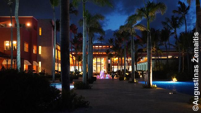 Vienas daugybės vieno superviešbučių (Hard Rock Hotel) pastatų