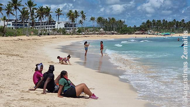Dominikos Respublikos paplūdimys