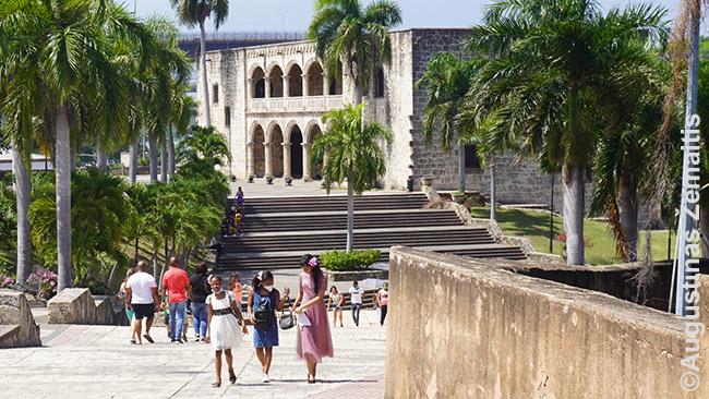 Kolumbo sūnaus namas Santo Dominge