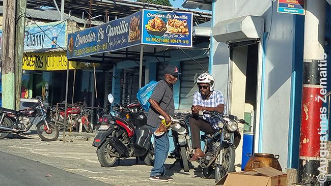 Dominikiečiai šiauriniame krante