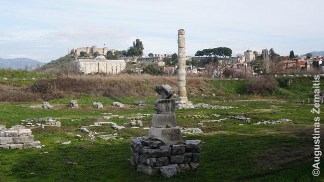 Štai kas beliko iš vieno 7 pasaulio stebuklų - Artemidės šventyklos