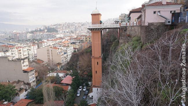 Izmiro žydų rajono viešasis liftas