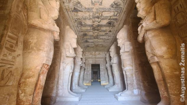 Abu Simbelo interjeras