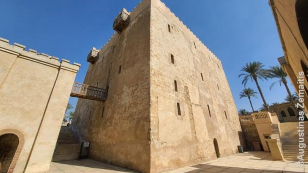 Koptų Šv. Makarijo vienuolyno tvirtovė