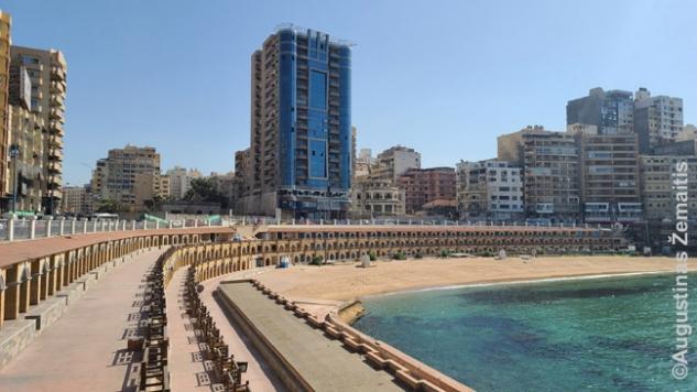 Stenlio paplūdimys Aleksandrijoje