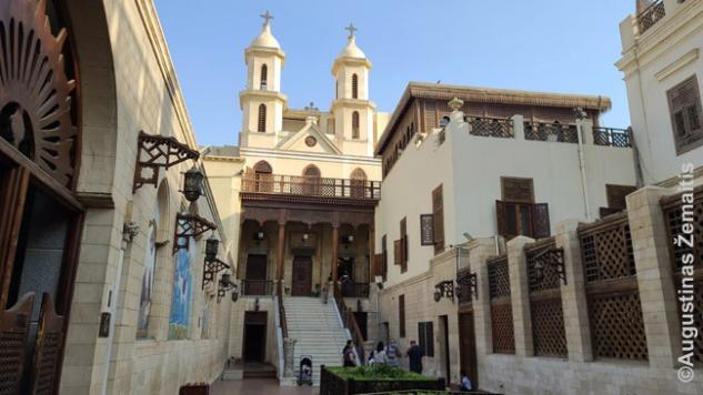 Koptiškojo Kairo širids - 'kabanti bažnyčia'