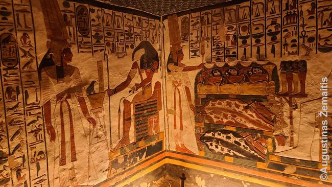 Karalienės Nefertari kape