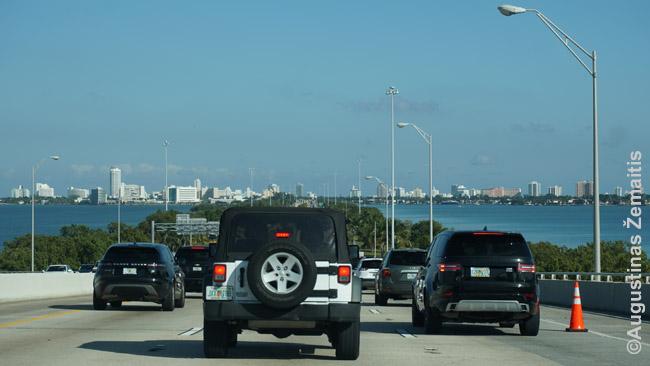 Tiltu į Miami Beach