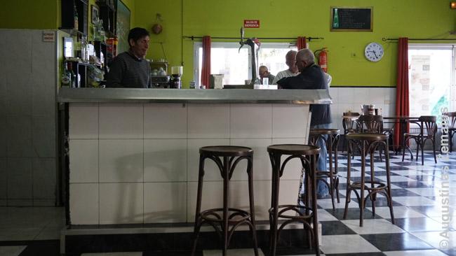 """Vietinė tradicinių spurgų """"churros"""" kavinė Fuerteventuroje"""