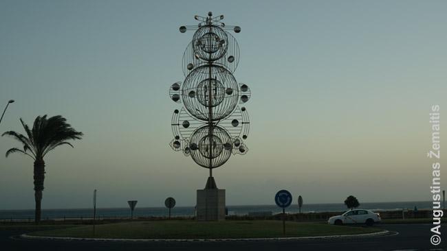 Vėjo žaislas Fuerteventuroje
