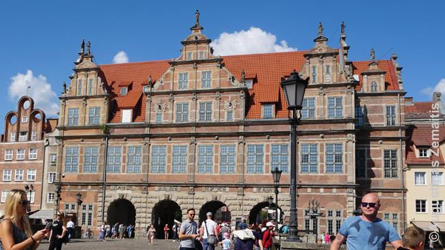 Gdansko vartai pietiniame Karalių kelio gale