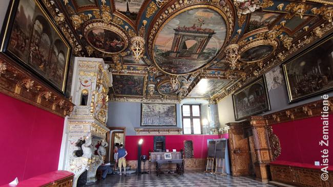 Gdansko Rotušės pasitarimų salė