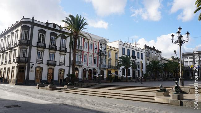 Las Palmas, Gran Kanarijos sostinės, centrinė aikštė