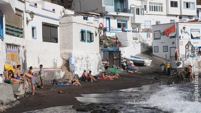 Tipinis nedidelis Kanarų paplūdimėlis
