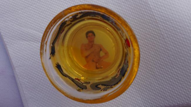 Kinų restorano stiklinė Gran Kanarijoje