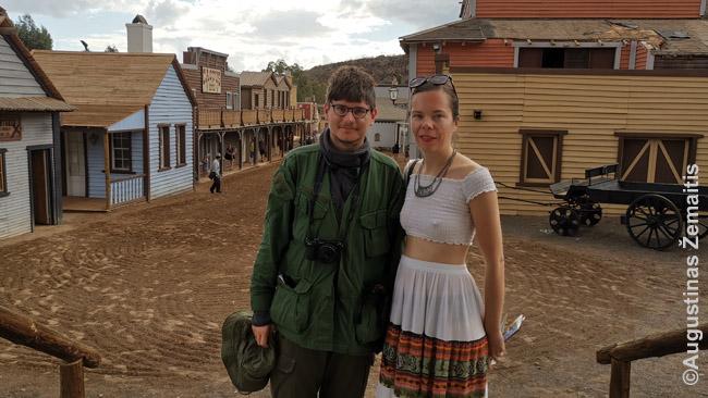 Gran Kanarijos kaubojų-indėnų tematikos Sioux City parke: lankydamiesi saloje antrą kartą, lankėme mažiau žymias jos vietas