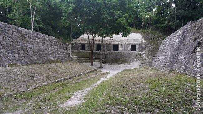 Žaidimo kamuoliu arena Jašchoje, Gvatemala