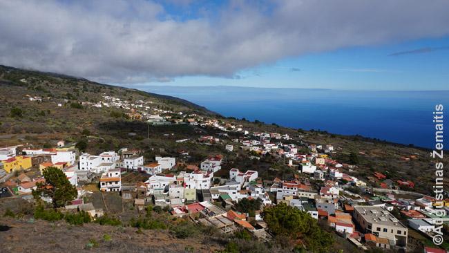 El Pinar miestelis Hierro salos pietuose
