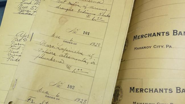 Seni lietuviški dokumentai vietos muziejuje