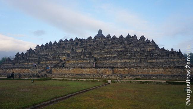 Borobudūras iš toliau