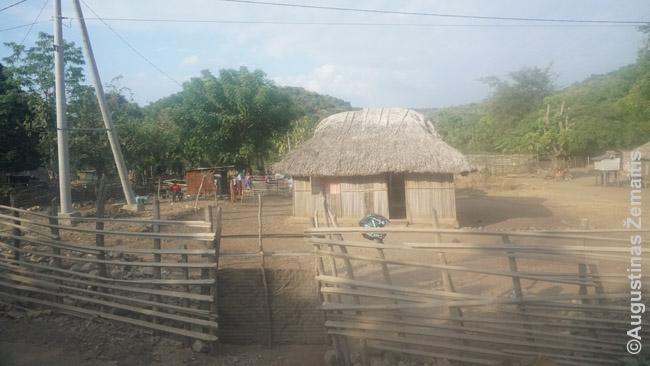 Timore tokiuose namuose dar gyvena daug kaimiečių