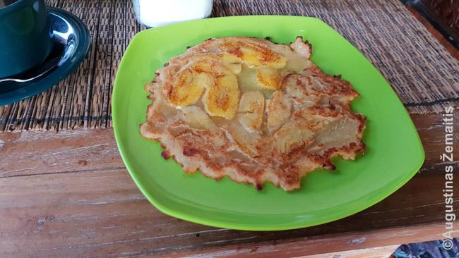 Blynai su bananais - vienas Balio patiekalų