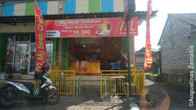 My Best Chicken stiliumi kopijuoja McDonald's, bet maistu, kaip ir daugelis tinklų, labiau KFC