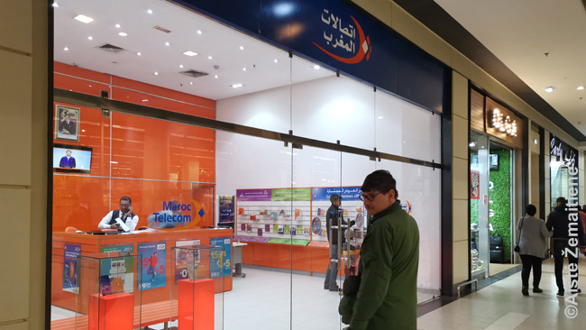 Oficialus Maroko telekomo salonas