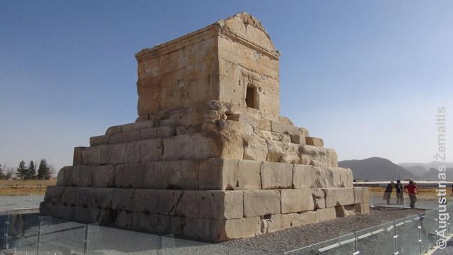 Kyro kapas Pasargaduose