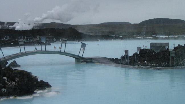 Žydrosios lagūnos maudykla Islandijoje