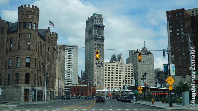 Detroito, dar vieno senojo JAV didmiesčio, centras
