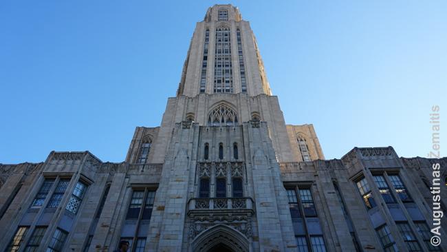 Pitsburgo Mokymosi katedra - tarpukariu statytas Pitsburgo universiteto dangoraižis. Vidus ne mažiau įspūdingas, nei išorė.