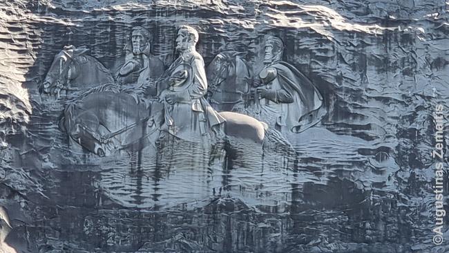 Stone Mountain bareljefas
