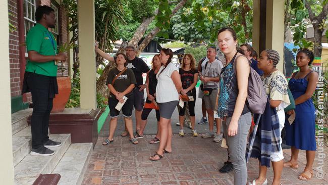 Ekskursija prie Bobo Marlio muziejaus Kingstone