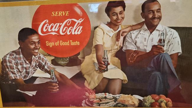 ~1960 m. Coca Cola reklama