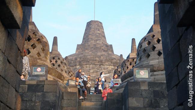 Borobudūro viršūnė