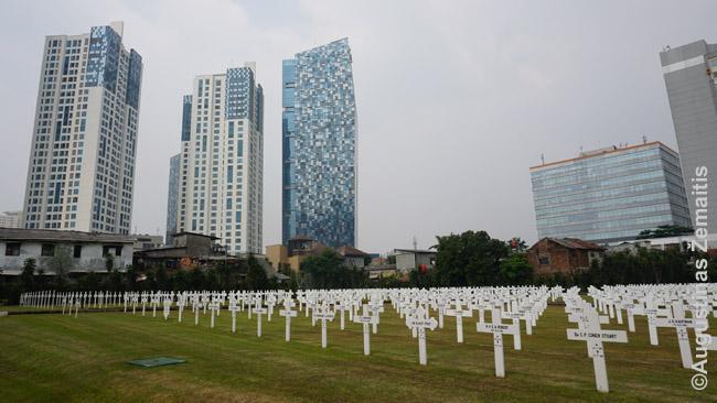 Džakartos olandų kapinės - netikėta tvarkos oazė