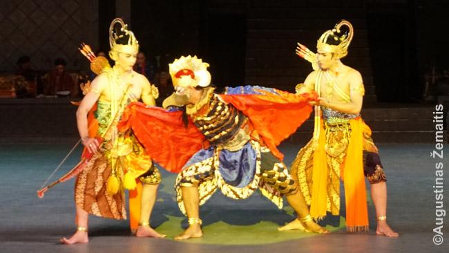 Ramajanos baleto herojai