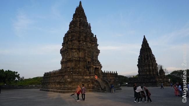Mažesniosios iš Prambanano šventovių skirtos dievų gyvūnams