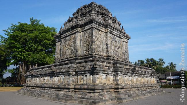 Manduto bduistų šventykla ir buvęs vienuolynas prie Džogjakartos - viena daugelio mažų šventyklų