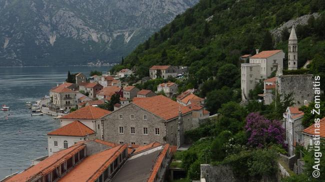 Perasto miestelis Juodkalnijoje