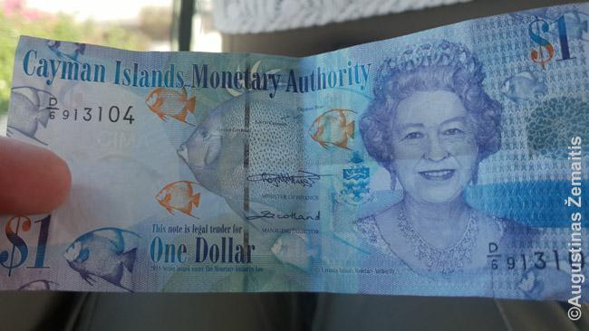 Kaimanų salos turi ir nuosavą valiutą - Kaimanų salų dolerį (nors priima ir JAV dolerius, kruizinių turistų rinka per svarbi, o kai jie šalyje tepraleidžia nepilną parą, pinigų juk nesikeis)