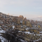 Kapadokija - fėjų kaminai, požeminiai miestai