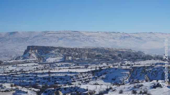 Kapadokijos panorama