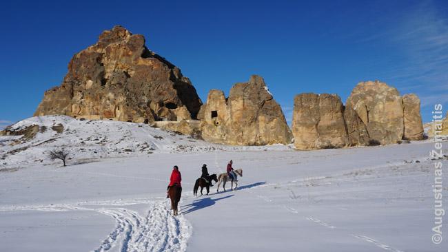 Žirgais per Kapadokiją