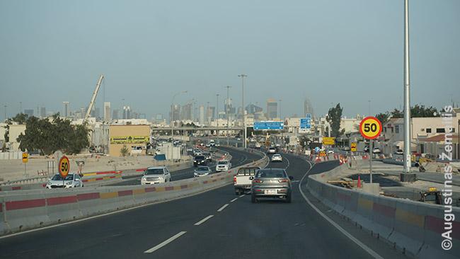 Eilinis plečiamas Dohos kelias