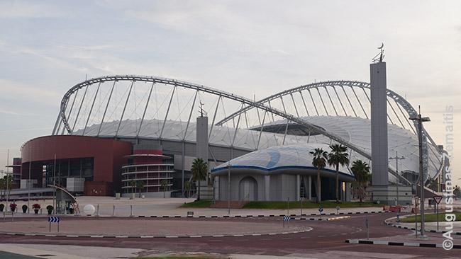 Vienas gausybės FIFA 2022 čempionato stadionų