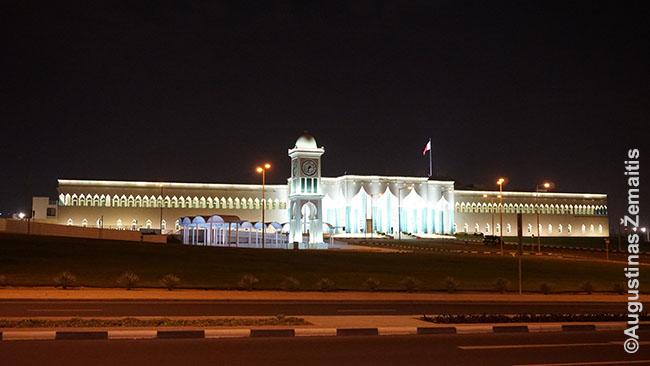 Kataro emyro rūmai prie Dohos senamiesčio