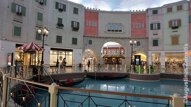 Venecijos įkvėptas Kataro prekybos centras