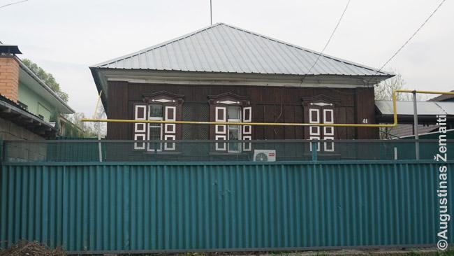 Kazachijoje yra likę senų rusiškų medinių namų, kaip šis Almatos Malaja Stanica rajone. Tačiau jei domina visų pirma seni miestai - Kazachija nėra labai gera vieta kelionei